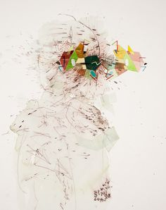 "Matter Mirror 30"" x 22"" by Gala Bent"