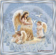 Image detail for -Christmas Angels,Animated - Christmas Photo - Fanpop . Angel Images, Angel Pictures, Angel Gif, Angel Kisses, Angel Stories, Angel Prayers, I Believe In Angels, Gifs, Angels In Heaven