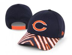 The days of boring hats are over! Add some zany style to your Chicago Bears gear with this Zubaz basic adjustable snapback hat from New Era! It features a team-colored animal print over the bill inspired by pop culture's instantly popular brand Zubaz, with an embroidered logo on the crown. So throw it on to top off your outfit at the next big game and let that funky look illuminate your Bears spirit for all to see!