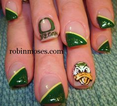 Oregon Ducks (University of Oregon) - Click image to find more Hair & Beauty Pinterest pins