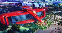 World's First Ferrari Hotel Races to Open in Theme Park