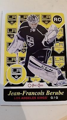 cool 2015-16 O-Pee-Chee OPC Retro Parallel RC Rookie #519 Jean-Francois BERUBE - For Sale View more at http://shipperscentral.com/wp/product/2015-16-o-pee-chee-opc-retro-parallel-rc-rookie-519-jean-francois-berube-for-sale/