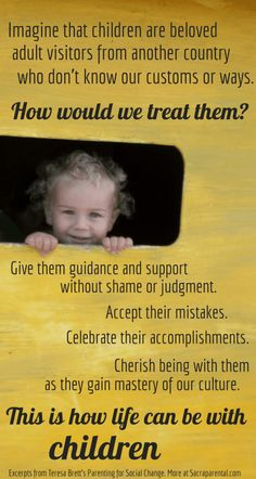 Quote from Parenting for Social Change by Teresa Brett Sacraparental.com Gentle parenting tips for fussy eaters!