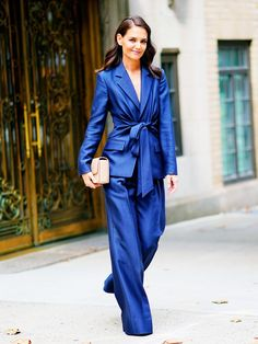 Katie Holmes Was Gorgeous In Gabriela Hearst For The Global Citizen Press Conference - Red Carpet Fashion Awards Street Style Outfits, Outfits Casual, Night Outfits, Cute Outfits, Fashion Outfits, Womens Fashion, Fashion Tips, Travel Outfits, Fashion Fall