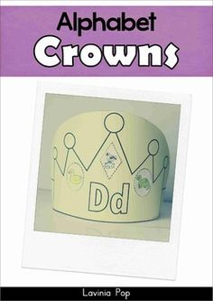 Alphabet Crowns - If the preschoolers name starts with the letter of the week, we should let them color their Letter Crown and wear it all day!