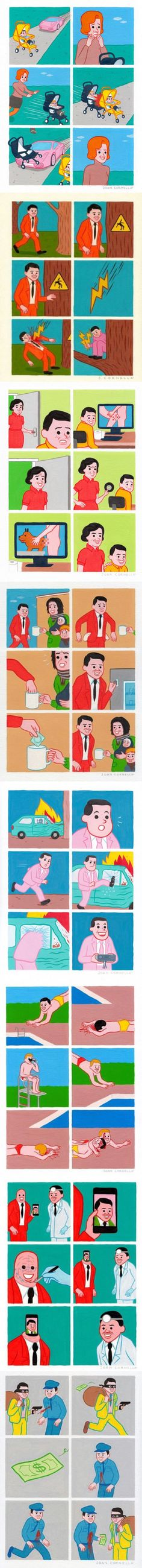 A compilation of Joan Cornella comics: Part 2