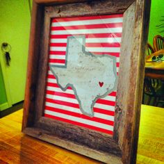 Texas art project.