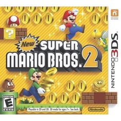 Powered by Frooition Pro in titles & description New Super Mario Bros. 2 (Nintendo 3DS) Bowser has once again kidnapped Princess Peach, but this time,... #nintendo #bros #mario #super