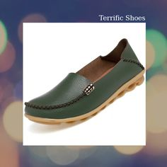 Comfy womens slip on leather shoes with grippy nodules that make it easy to walk or stand. Buy Online Now and Save. Leather Shoes, Must Haves, Loafers, Slip On, Check, Stuff To Buy, Shopping, Women, Products