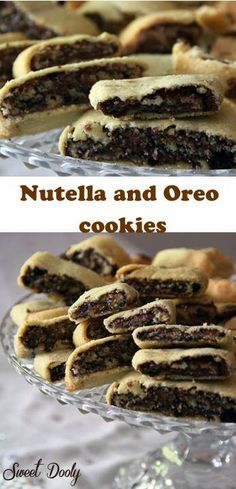 3 Ingredients Nutella and Crumbed Oreo cookies and you have the most tasty cookies ever!