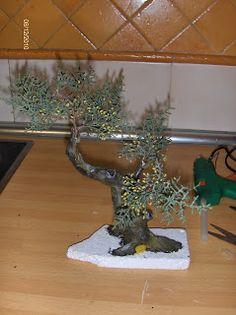 Шаг за Шагом: Оливковые деревья в миниатюре