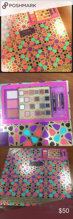 Tarte Tarteist Trove Collectors Set NEW! limited edition 5 piece beauty gift box enriched with Amazonian Clay. tarte Makeup Eyeshadow