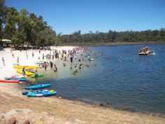Lake Leschenaultia, Mundaring, Western Australia is ideal for a day trip during summer