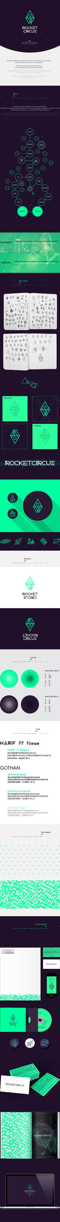 ROCKETCIRCUS by ROCKETCIRCUS, via Behance