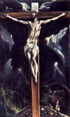 crucifixion by el greco: