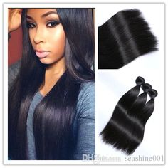 top quality malaysian virgin hair straight hair weave 100% grade 8a unprocessed malaysian virgin hair 3 bundles straight human hair bundles from seashine001 can help your hairs look thicker. double weft hair extensions are made of human hairs. Using hair extension weft and weft extensions can make you feel more confident.