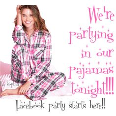 Yep, we can party in PJ's www.liasophia.com/twl