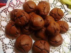 Muffin al cacao e arancia con gocce di cioccolato fondente :3