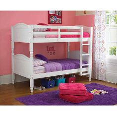 Purchase the Kylie Twin Over Twin Bunk Bed at an always low price from Walmart.com. Save money. Live better. On Sale $199