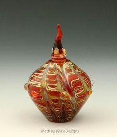Red Perfume Bottle - matt hess's Gallery - Jacksonville artist