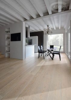 Pietra - Rovere Select Europeo - Spazzolato Floor Colors, Luxury Kitchens, Home Living, Terrazzo, Living Room Interior, Modern Classic, Home Projects, Living Room Designs, My House
