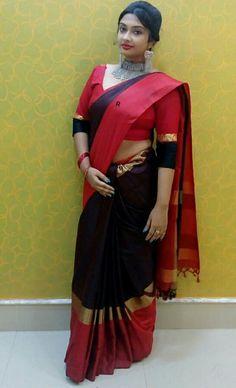 Saree Fashion, Saree Styles, Bangles, Sari, Traditional, My Style, Beautiful, Bracelets, Saree