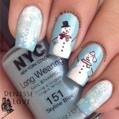 christmas by denisselove #nail #nails #nailart