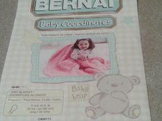 Bernat Vintage 1980s Knit Pattern for Baby Blanket & Crochet washcloth/potholder ENDS IN 7 DAYS from 10/6/2013 to 10/13!