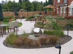 while this is a home for alzheimer's patients, the layout is also beautiful, snesnory, safe and accisble for all homes. tettenhall-care-home
