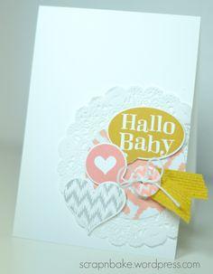 Stampin' UP! - baby - card - Karte - Kleiner Sonnenschein - Sweet Dreams - Süße Träume