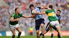 Dublin and Kerry matches have seen some of the greatest contests in GAA in Croke Park. Irish Games, Croke Park, Ireland Holiday, Images Of Ireland, Modern Games, The Descent, Fun Activities To Do, Dublin City, Family Images