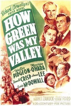 Como eta Vetde o meu Vale (1942) Curiosidades sobre os 85 vencedores do Oscar de Melhor Filme   Blog do Curioso, por Marcelo Duarte
