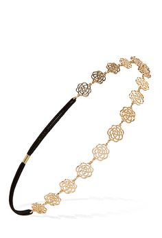 Rose Charm Headband #Accessories