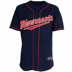 Men's Majestic Minnesota Twins Cool Base Home Cream Pinstripe ...