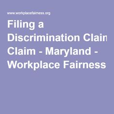 How To Deal With Discrimination At Work  Work Discrimination