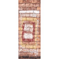 DOOR MURAL INFO: Create a nice effect on your door with this Graffiti 8 Brick...