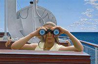 Alex Colville's 'To Prince Edward Island', 1965. #MoonriseKingdom inspiration.