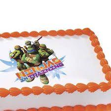 Image result for teenage mutant ninja turtles cake