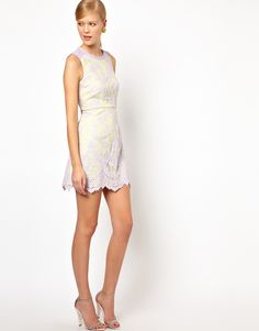 Whistles dress lace pastel spring summer 2013