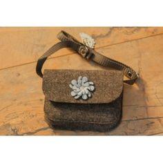 Etoi Design - szara torebka i kwiatek