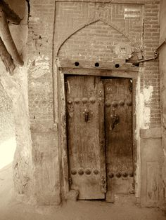 an old door in shiraz,Iran Grand Entrance, Entrance Doors, The Wise Man's Fear, Patrick Rothfuss, Engineer Prints, Old Doors, Metal Doors, Closed Doors, Door Knockers