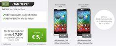 Motorola RAZR i für 163,95 EUR mit BASE pur Classic