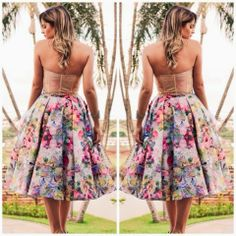 How to Chic: FLORAL MIDI SKIRT- OUTFIT