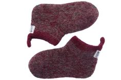 Best home wear bootties, eco friendly,made by people, natural wool from Iceland.