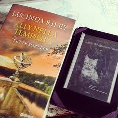 Giorno 6  cosa leggete? #challengebookfebruary  Gioia - Ally nella tempesta di lucinda Riley Debora - il gatto che aggiustava i cuori di Rachel wells  #libri #libro #leggere #letture #book #books #lucindariley #rachelwells #bookstagram #instalike #instalibro #instabook #ebook #giunti #booklover #bookaholic #bookporn #ilovebooks #read #reading #like #follow #seguimi #lettori #kindle #picoftheday #photobook