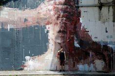 Borondo à Rome - www.street-art-avenue.com