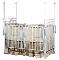 Four poster iron crib