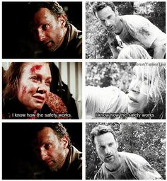 The Walking Dead- Andrea coming full circle