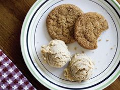 Bacon fat gingersnaps (Bake the Book) from Serious Eats by Julia Moskin and Kim Severson