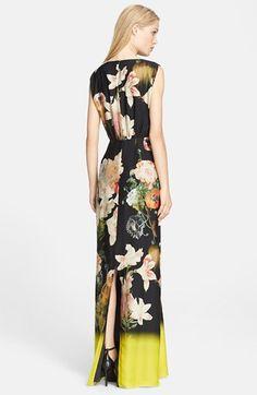 Ted Baker London 'Opulent Bloom' Print Maxi Dress | Nordstrom